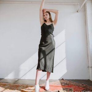 Silk Celine dress